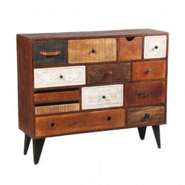 Commode 13 tiroirs en bois de Palissandre - VERDEN