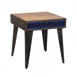 Table de chevet 2 tiroirs bois - VERDEN