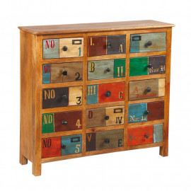 Commode 15 tiroirs en bois de Palissandre - VERDEN