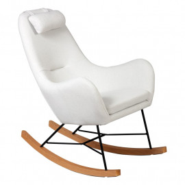 Rocking Chair Beige - SAMNE