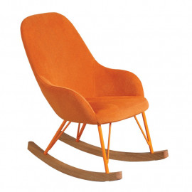 Rocking Chair Enfant Orange - KIDSAMNE