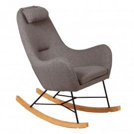 Rocking Chair Gris -SAMNE