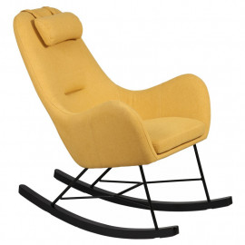 Rocking Chair Jaune - SAMNE