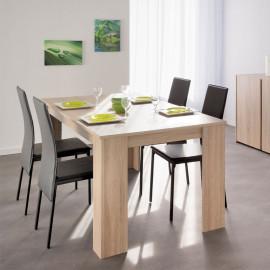 Table de repas rectangulaire à allonge - NAKRAN