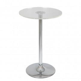 Table de bistrot mange debout en verre - SETA