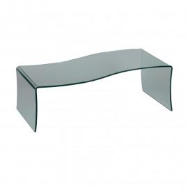 Table basse forme S en Verre - GRIB