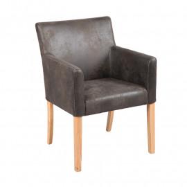 Chaise avec accoudoirs - FIGRIX