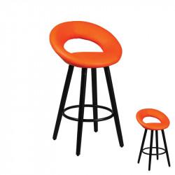 Duo de tabourets de bar Orange - PIP