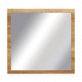 Miroir carré Chêne blond - FRUITA