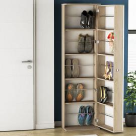 Armoire à chaussures miroir - SKO