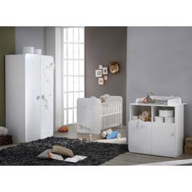 Chambre bébé complète mixte 60x120 - SAFARI
