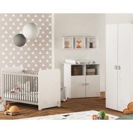 Chambre bébé complète mixte 60x120 - CHATON