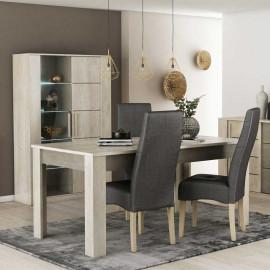 Table de repas rectangulaire 170 cm - LYON