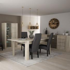 Table de repas à allonge 170/230 cm - LYON
