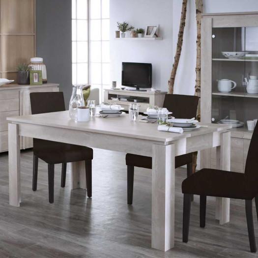 Table de repas 170 cm Chêne Beige - TOULOUSE