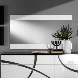 Miroir rectangulaire Blanc laqué - CROSS