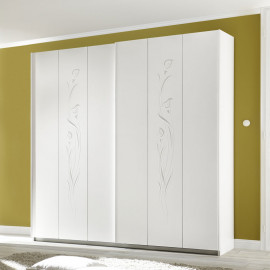 Armoire 2 portes coulissantes 220 cm - ADELAIDE