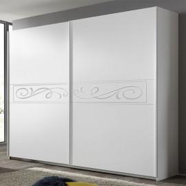 Armoire 2 portes coulissantes 220 cm - YOLANDE