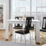 Table de repas à allonge Blanc mat - RUYRUY