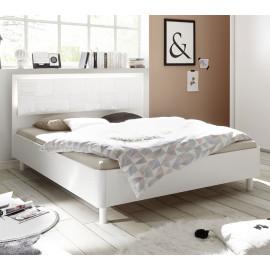 Lit 160x200 Blanc - FIORI