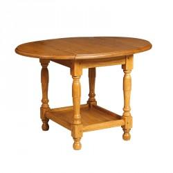 Petite table pliable en Chêne - BRICHONE
